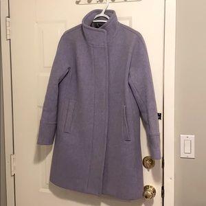 J.Crew Lavender Cocoon Coat
